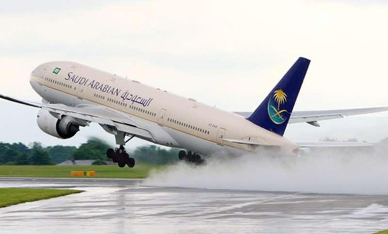 Saudi plane makes emergency landing in Cairo due to bad weather