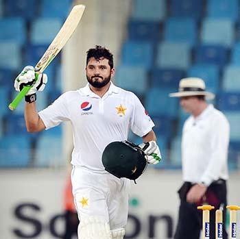 Azhar Ali fires triple century