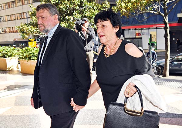 Hughes family walk out of inquest