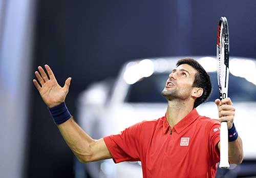 DJOKOVIC AVERTS UPSET