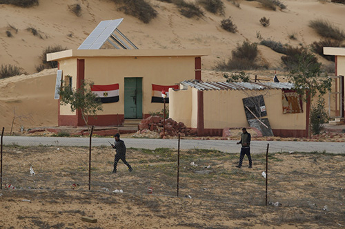 Egypt president predicts long war against Sinai militants