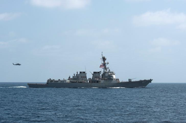U.S. warship targeted in failed missile attack from Yemen