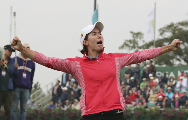 Ciganda beats Lee in LPGA Tour playoff in South Korea