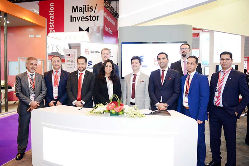Batelco signs key 5G accord with Ericsson