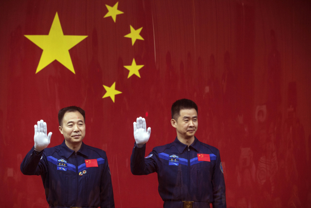 China to blast two astronauts into space on Monday
