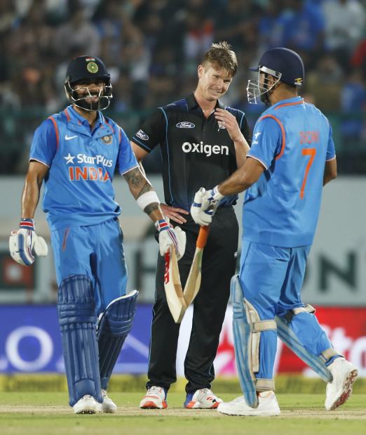 Virat Kohli leads India chase in routine win vs NZ in 1st ODI