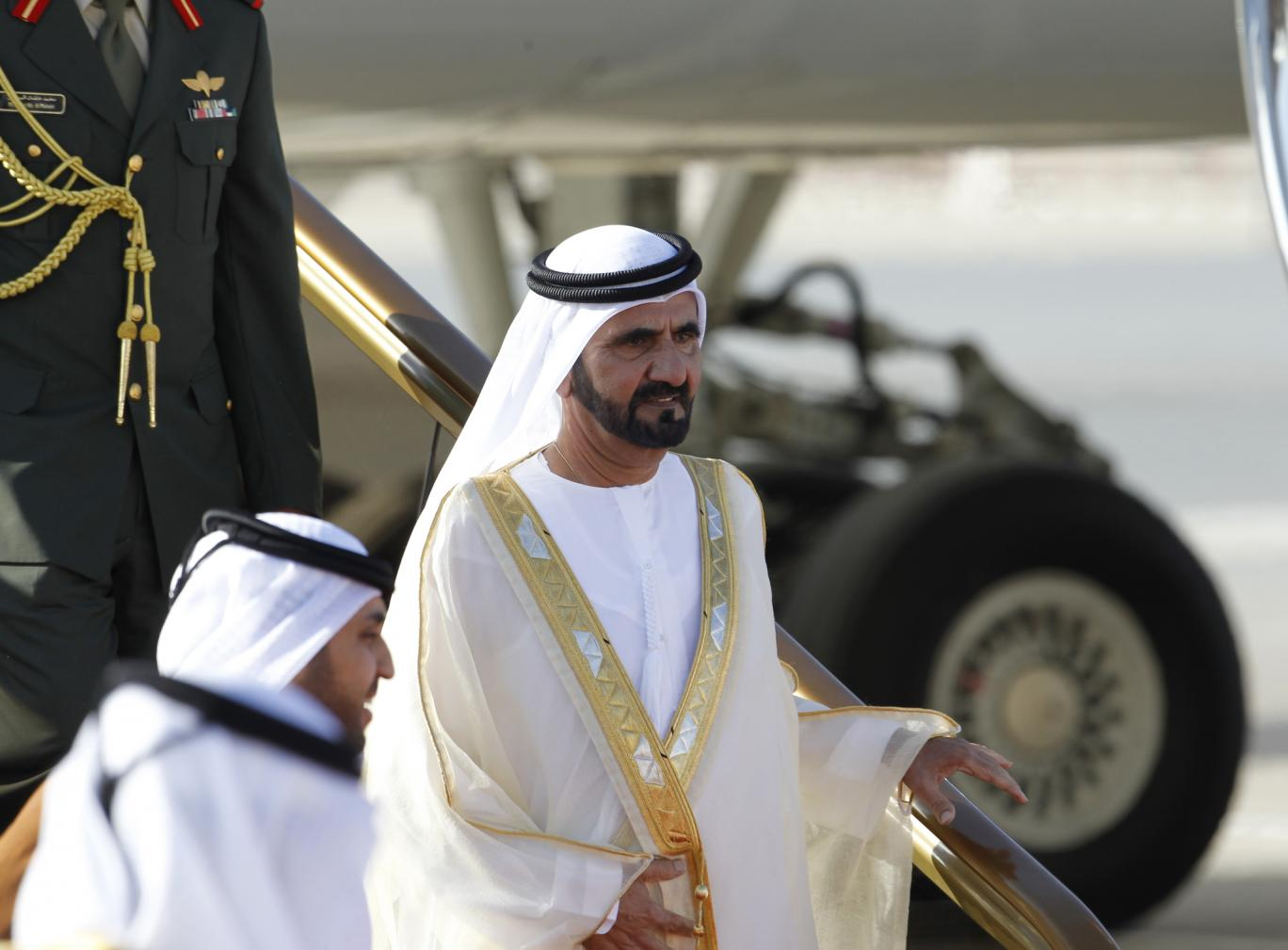 Dubai ruler flies more than £250,000 of aid to Haiti in private jet