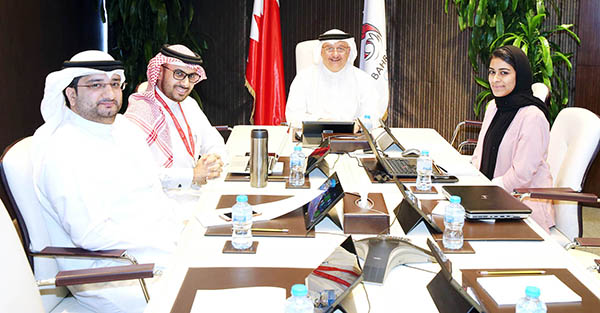 Bahrain sport: Final touches to library project