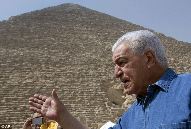 In Pictures: Experts discover secret 'cavities' in Egypt's Great Pyramid