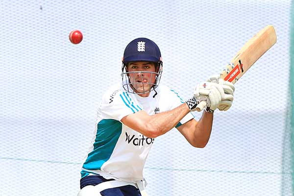 Cook ready for tough challenge