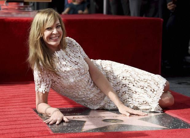 Emmy-Award winning actress Janney gets star on Walk of Fame