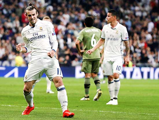 CHAMPIONS LEAGUE: Real Madrid rout Legia Warsaw