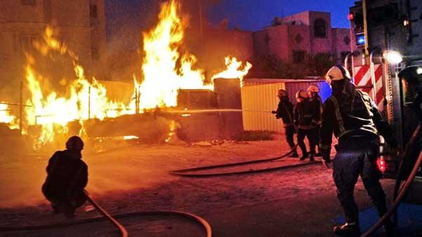 Cabin gutted in Dair blaze