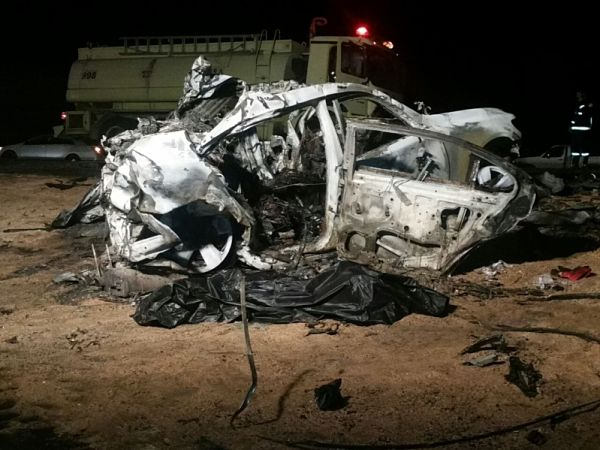 Three killed in pile-up accident