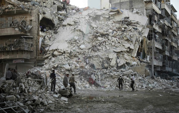 EU summit to condemn Russia on Aleppo
