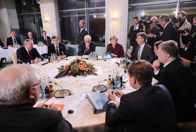 Germany hosts Ukraine summit