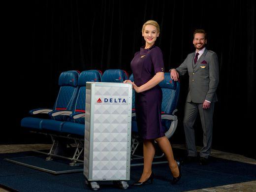 Delta unveils new uniforms on Facebook