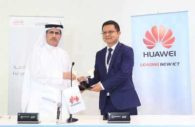 Dewa, Huawei seal smart city partnership deal