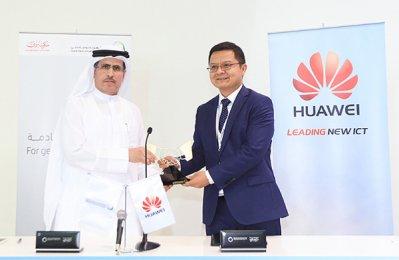 Dewa, Huawei seal smart city partnership deal