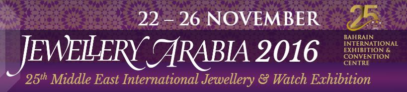 Bahrain gearing up for Jewellery Arabia 2016
