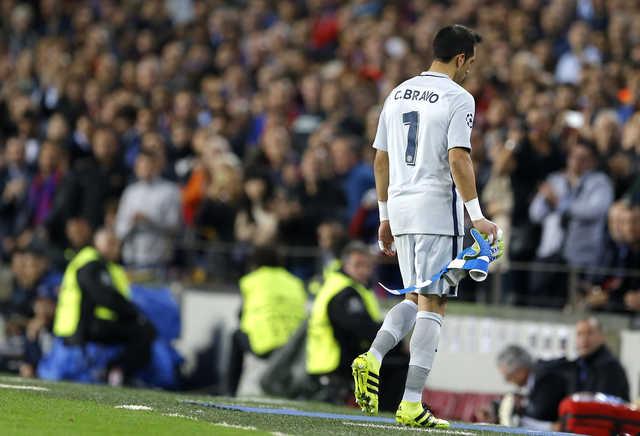 Bravo error highlights risk in Guardiola's demanding style