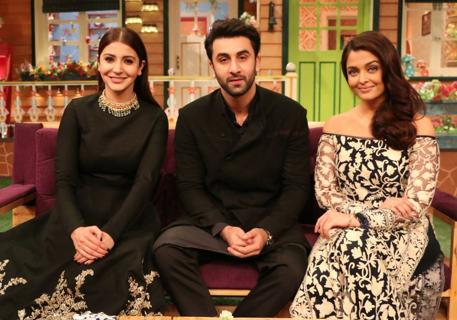 Photos: 'ADHM' trio Aishwarya Rai Bachchan, Anushka Sharma and Ranbir Kapoor have a blast on 'Kapil Sharma Show'