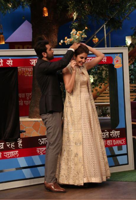 TV: Photos: 'ADHM' trio Aishwarya Rai Bachchan, Anushka Sharma and Ranbir Kapoor have a blast on 'Kapil Sharma Show'