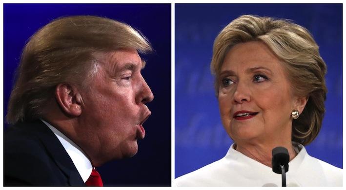 TV audience for Trump-Clinton debate 64m