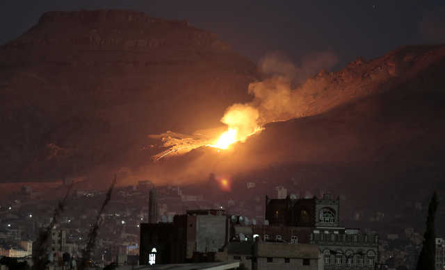 Arab coalition says Yemen rebels breaching truce