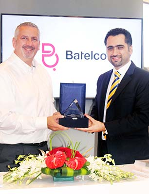 Excellence award for Batelco