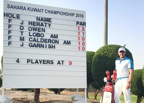 Bahrain golfers shine in Kuwait