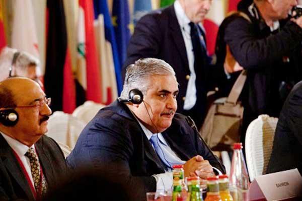 Bahrain backs fight against IS
