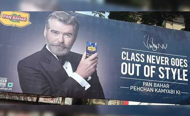 I am deeply shocked, saddened: Pierce Brosnan on pan masala ad