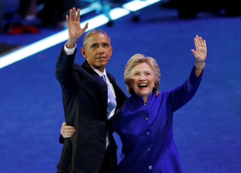 Barack Obama: Hillary Clinton can be a great American president
