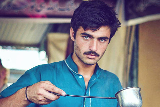Pakistan's 'cat-eyed' tea seller sparks national soul searching