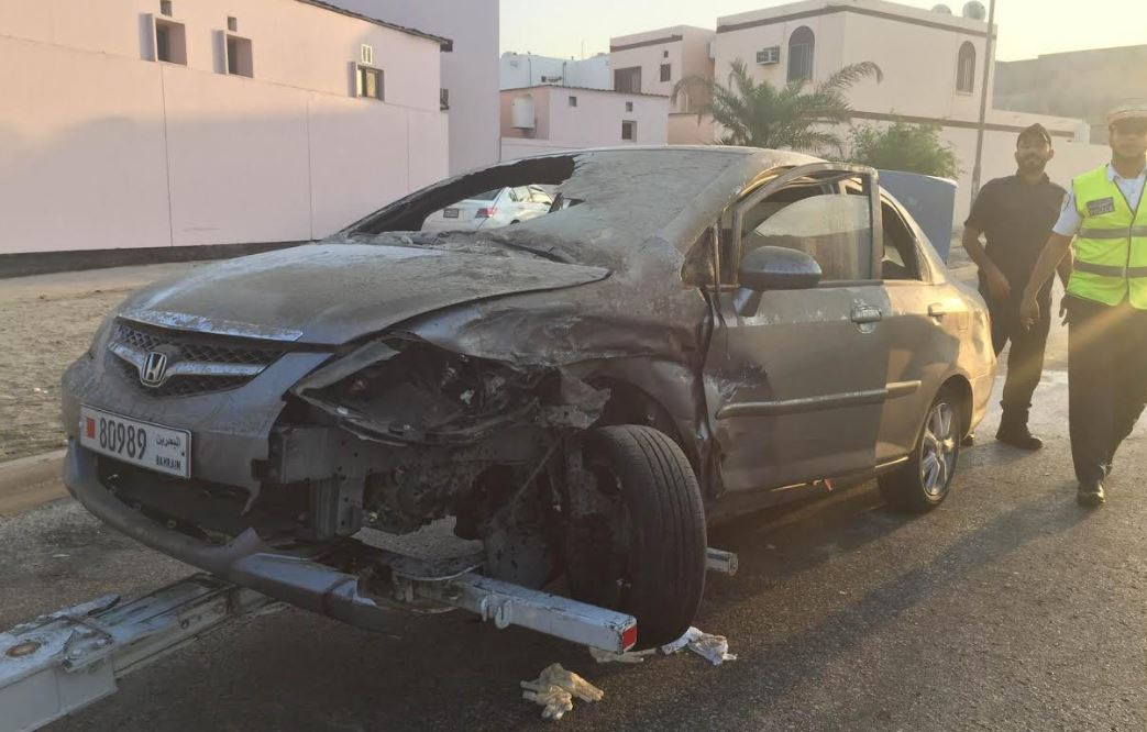 One dead, one injured in car crash in Hamad Town