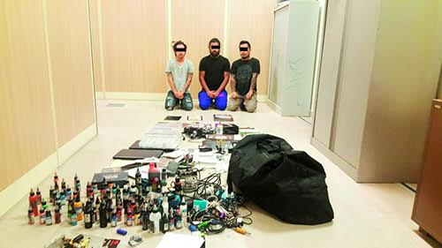 Three fake Asian plastic surgeons arrested