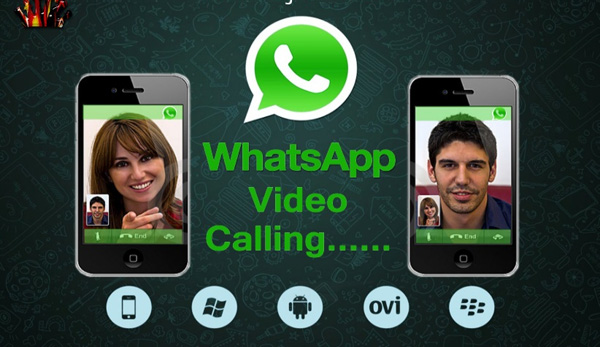 Whatsapp video calling feature goes live