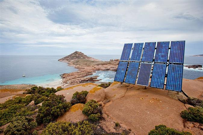 Andaman to go green with India's first solar storage power plant