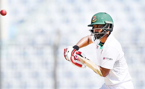 Tamim leads Bangladesh to safety