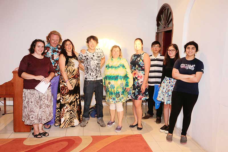 Artists show off talents for roles in musical
