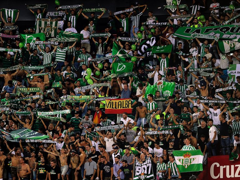 Spanish league: Late goal lifts Real Betis to win at Osasuna