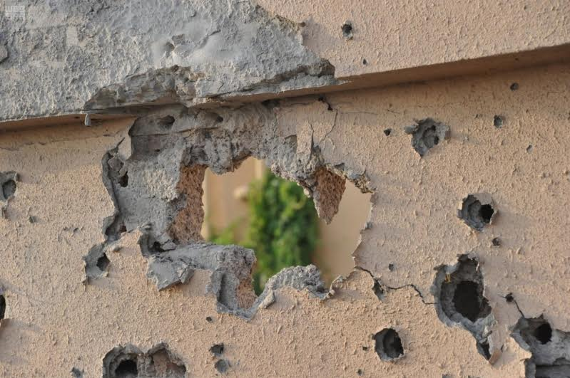 Two houses damaged in border shelling from Yemen