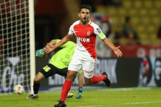 Falcao on target as rampant Monaco go second