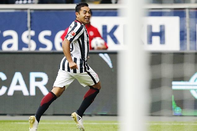 Frankfurt wins 3-0 in Hamburg to go fourth in Bundesliga