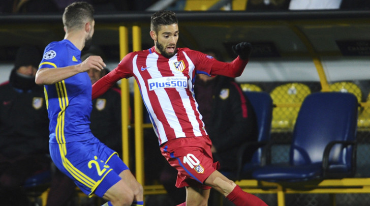 Atletico Madrid winger Carrasco signs new contract until 2022
