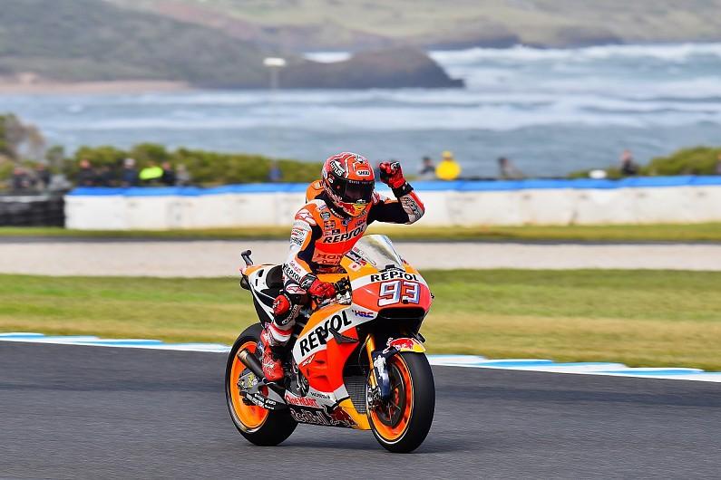 Marquez on pole for Australian MotoGP