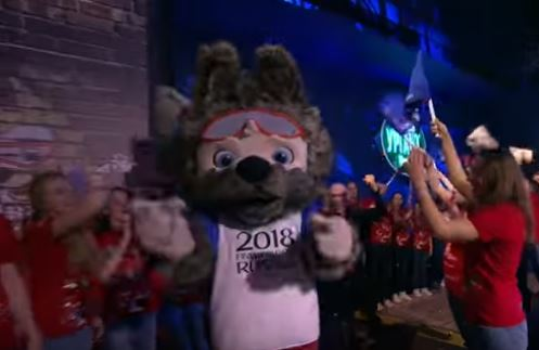 Loving wolf named as World Cup mascot