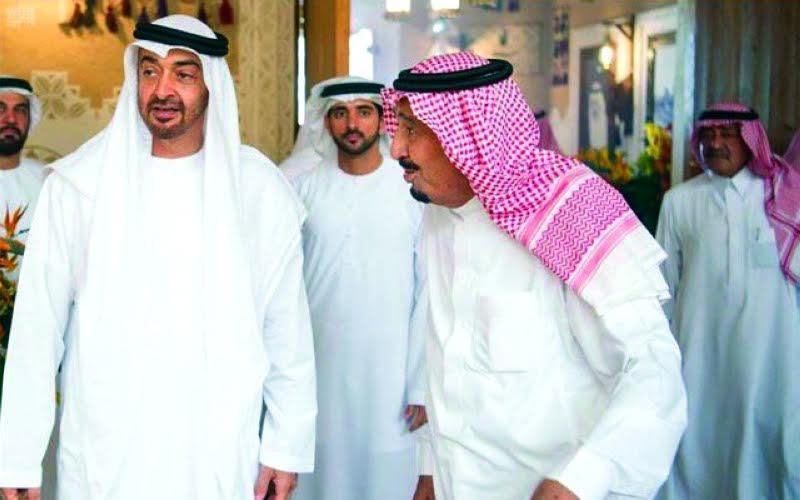 Saudi King, Abu Dhabi Crown Prince hold talks