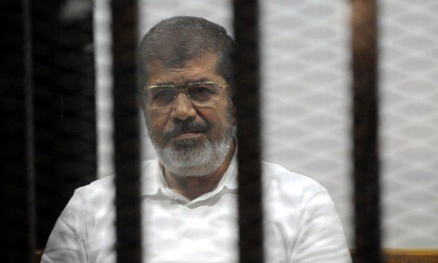 Egyptian court confirms 20-year-prison sentence on Morsi